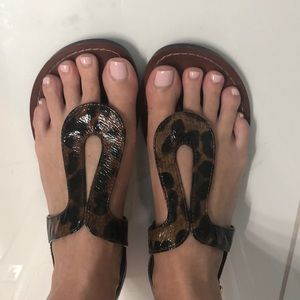 Animal print Steve Madden sandals